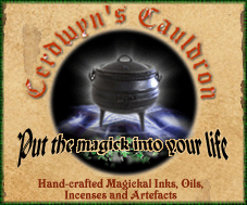 Cerdwyn's Cauldron: Handcrafted oils, inks and artefacts for the witch's spellbox